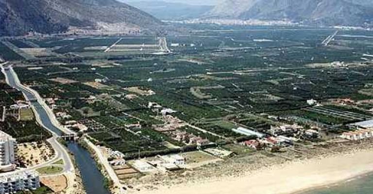 Foto von Valencia: Xeraco, vista aerea