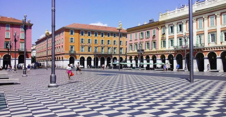 Photo France: Place Massena Nice