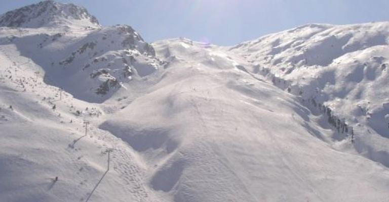 Foto von : Estacion de esqui Saint-Sorlin-D\'Arves