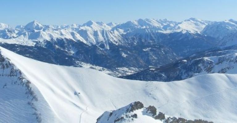 Photo : Vista sobre Serre Chevalier