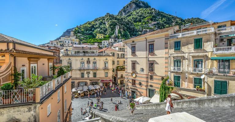 Photo Campanie: Amalfi plaza