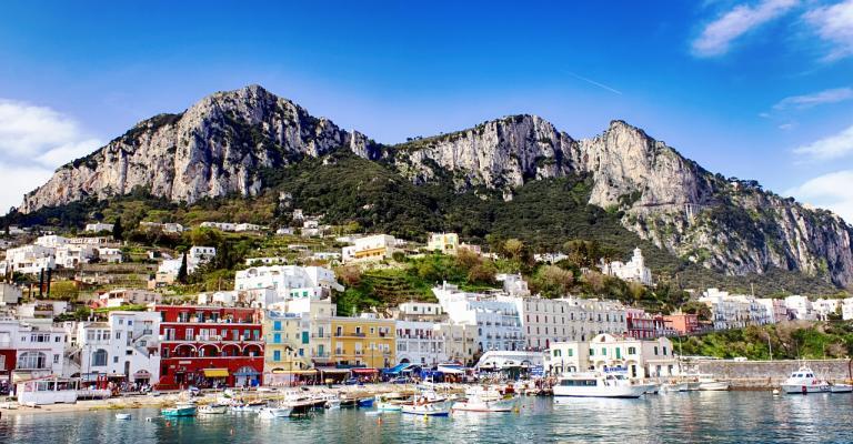 Foto Capri: Capri pueblo