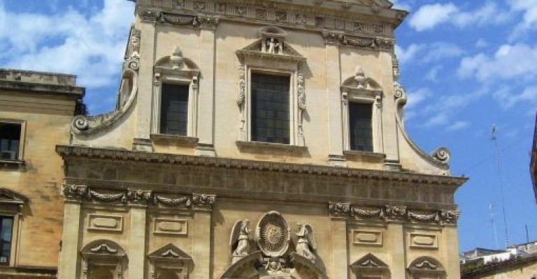 Foto von Apulien: Lecce Iglesia