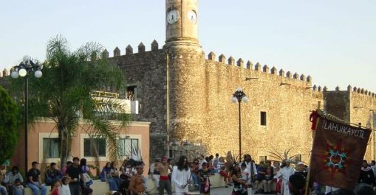 Fotografía de Morelos: Plaza del Zocalo en Cuernavaca