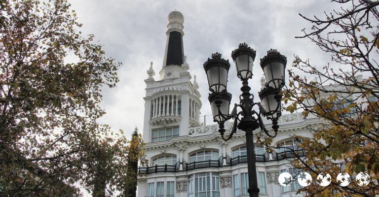 Fotografia de Madrid: Plaza de Santa Ana