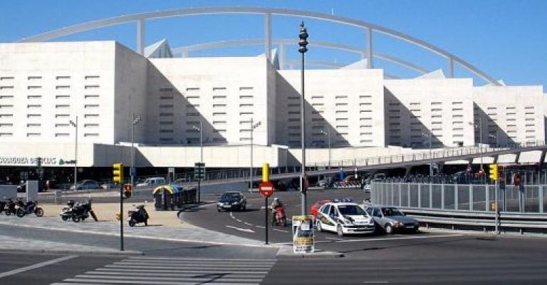 Fotografía de Zaragoza: Vista exterior de la estación de Delicias Zaragoza