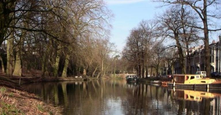 Fotografía de Holanda: Canal de Utrecht