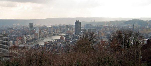 Fotografía de Bélgica: Panoramica desde la Ciudadela