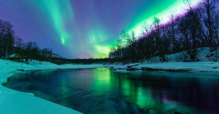 Picture Västerbotten: Aurora Boreal