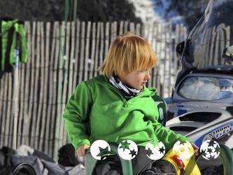 Niño en Vallnord