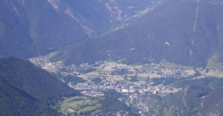 Fotografia de La Massana: Vista aérea de La Massana