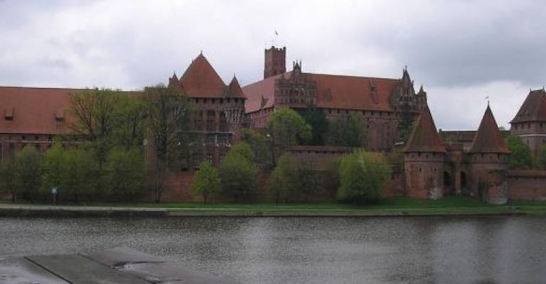 Fotografía de Pomerania: El castillo de Marlbork de Gdansk