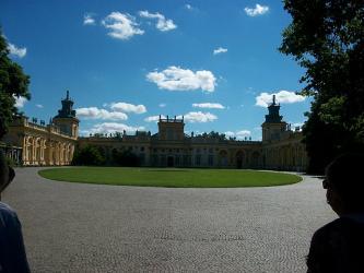 Palacio Wilanow de Varsovia