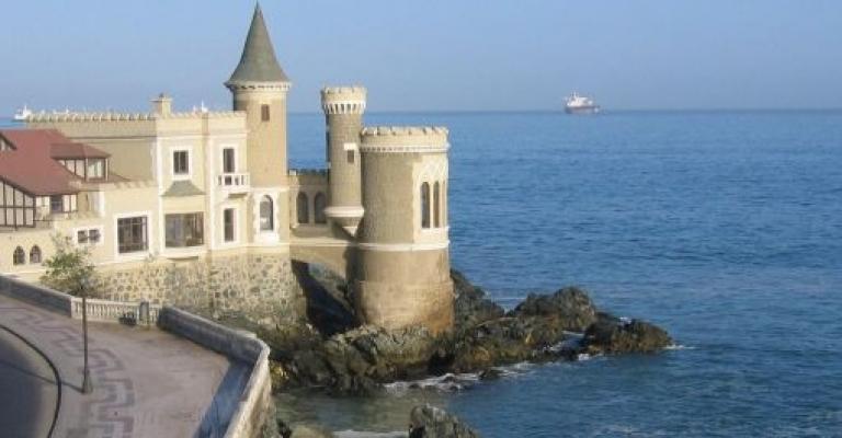 Fotografía de Chile: El Castillo Wulff, Viña del Mar