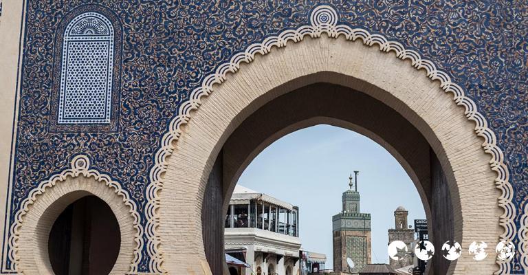 Fotografía de Fez-Bulmán: Fez - Medina Bab Boujloud