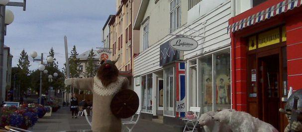Fotografía de Islandia: Calles de Akureyri