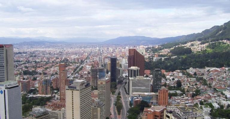 Fotografía de Bogota D C: Bogotá panorámica ciudad