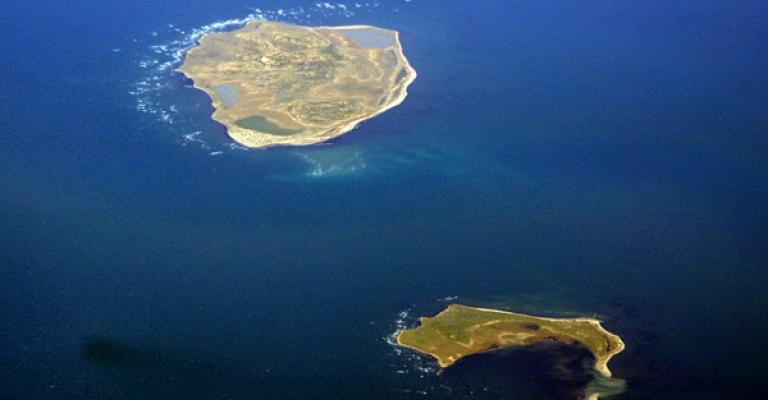 Fotografia de Médenine: Vista aérea de la isla de Djerba