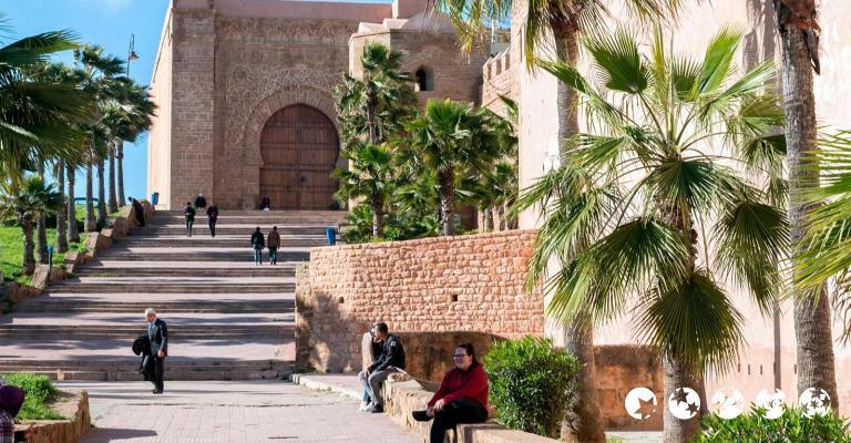 Fotografía de Rabat-Sale-Zemmour-Zaer: Rabat - Muralla