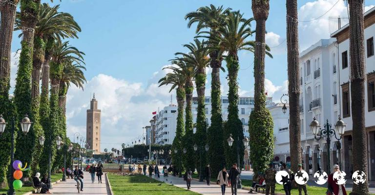 Fotografía de Rabat-Sale-Zemmour-Zaer: Rabat - Nouvelle Ville