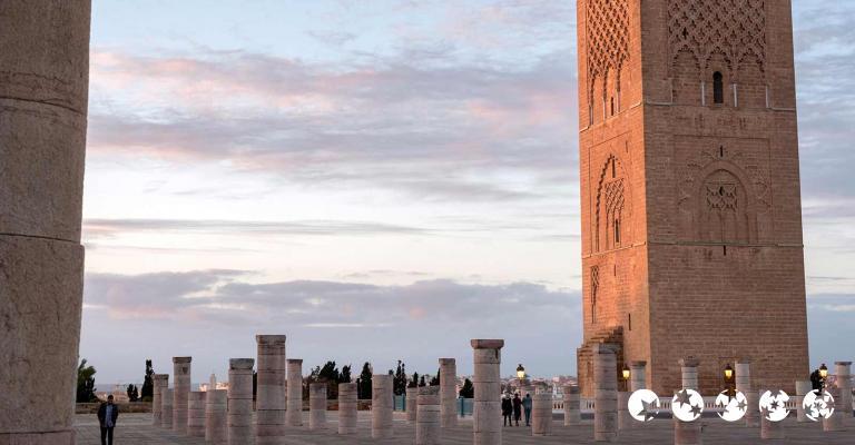 Fotografía de Rabat-Sale-Zemmour-Zaer: Rabat - Torre Hassan