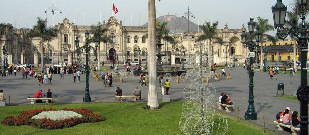 Fotografía de Perú: Palacio de Gobierno en Lima