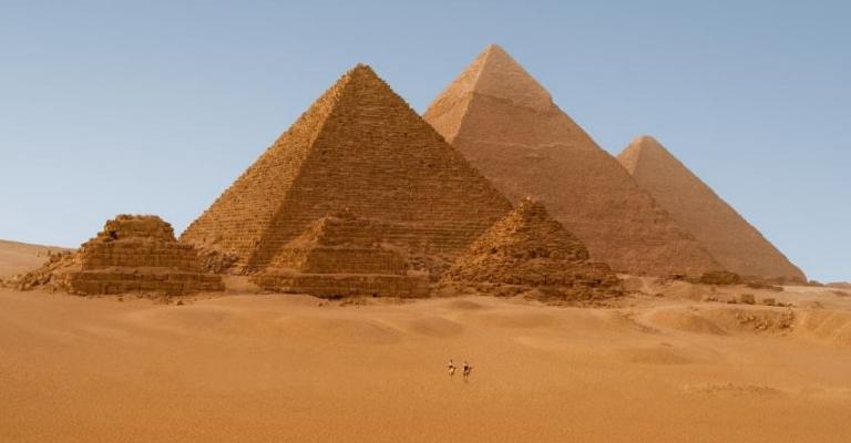 Fotografía de al Jizah: Pirámides de Guiza