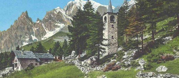 Fotografía de Courmayeur: La iglesia de Planpincieux