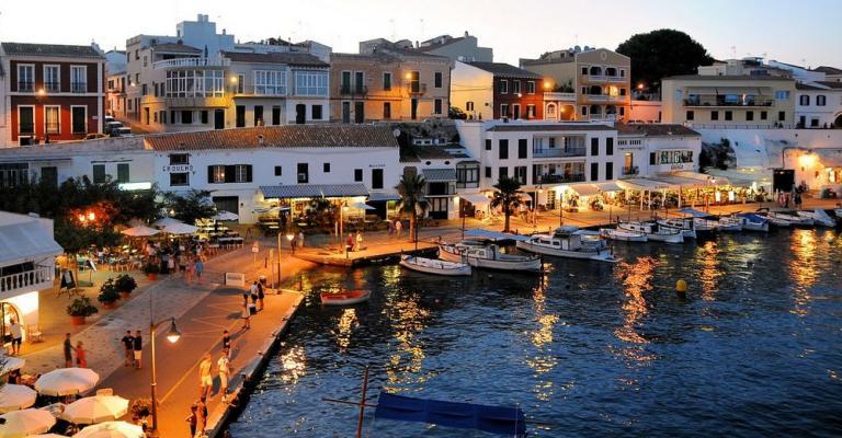 Picture Menorca: Menorca noche