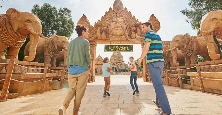 Picture : Port Aventura - Angkor