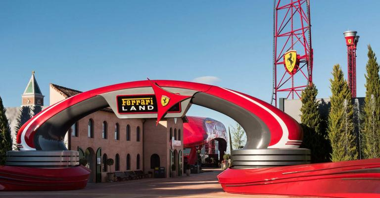 Picture : Port Aventura Ferrari Land