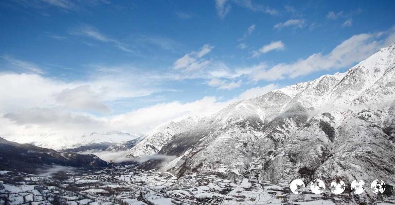 Foto von : Benasque desde el mirador de Cerler