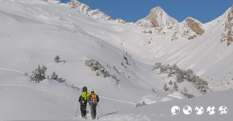 Foto von : Esquí de travesía por Ibón de Paderna
