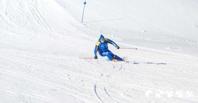 Fotografía de : Monitor de la estación de esquí de Cerler