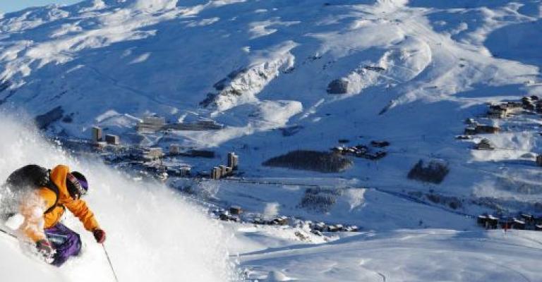 Picture : Esquí en Los Alpes