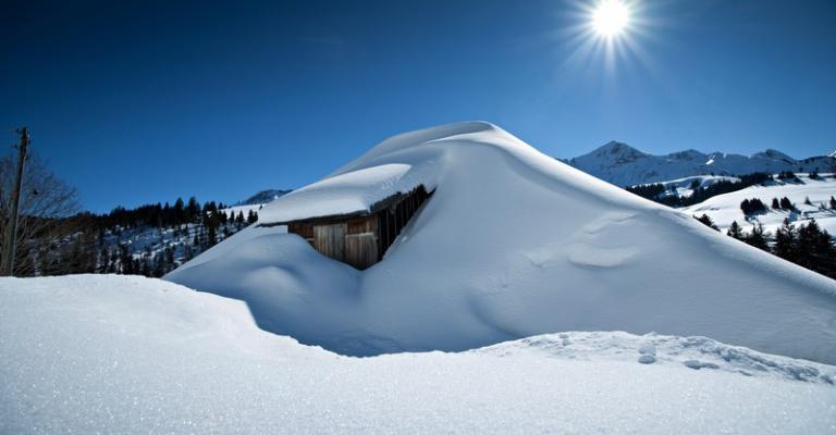Photo : Alpes suizos