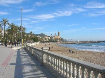 Sitges y el paseo marítimo