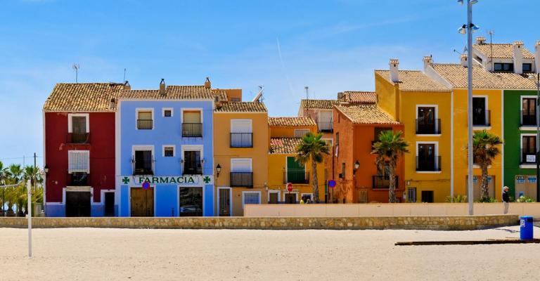 Picture : Villajoyosa, Costa Blanca